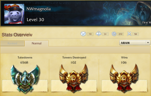 Finally all gold plus in ARAM