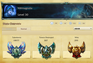 ARAM Badges at 299 Wins 12.01.13